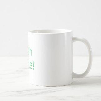 Sí verde del tipo tazas de café