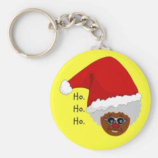 Sí, Virginia, hay un Papá Noel negro Llaveros Personalizados