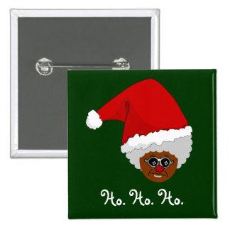 Sí, Virginia, hay un Papá Noel negro Pins