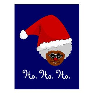 Sí, Virginia, hay un Papá Noel negro Postales