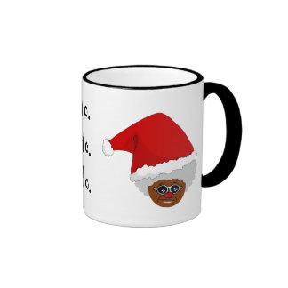 Sí, Virginia, hay un Papá Noel negro Tazas