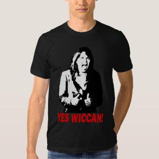 ¡Sí Wiccan! Camiseta 2 Playera