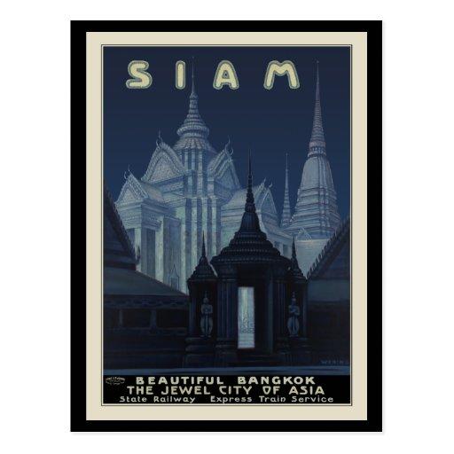 Siam Beautiful Bangkok Post Cards
