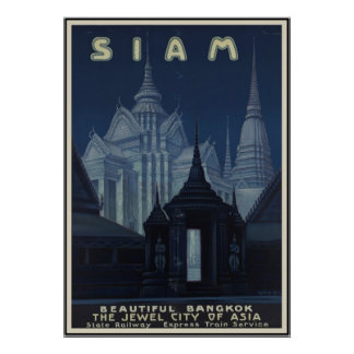 Siam Beautiful Bangkok Poster