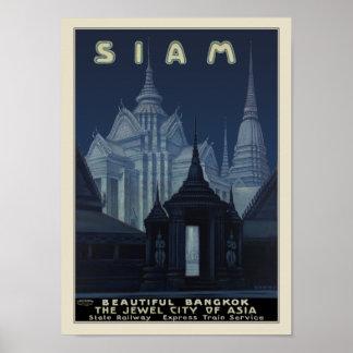 Siam - Beautiful Bangkok Posters