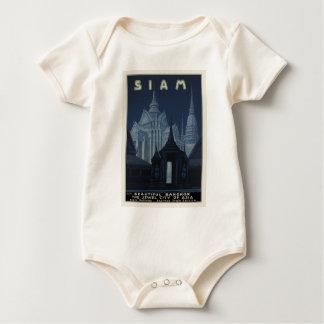 Siam - Beautiful Bangkok Baby Bodysuit