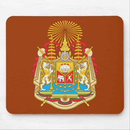 Siam Coat Of Arms Mousepads