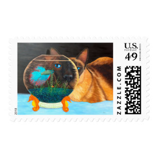 Siam I Am Postage Stamps