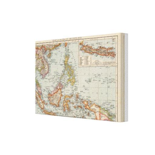 Siam, Malay Archipelago Canvas Print