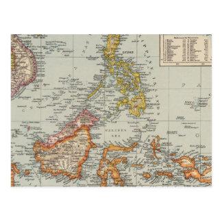 Siam, Malay Archipelago Postcard