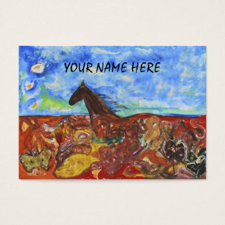 Siamanto Horse Business Card