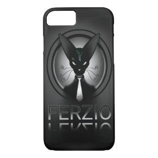 Siamese Black Cat Punk iPhone 8/7 Case