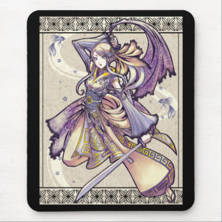 Siamese Blade Dance mousepad