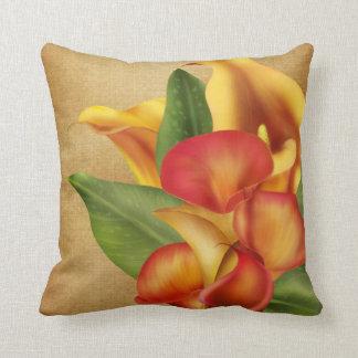 Siamese Callas Throw Pillow