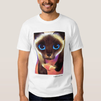 Siamese Cat 104 FOLLOW ME JudeMaceren.com Tees