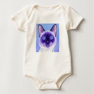 Siamese Cat Baby Shirt