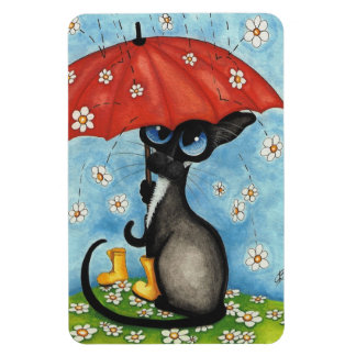 Siamese Cat by BiHrLe Magnet