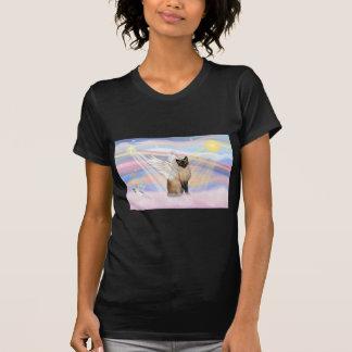 Siamese Cat - Clouds T-Shirt