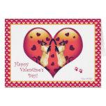 Siamese Cat Cute Valentine's Day Card
