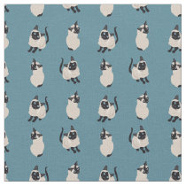 Siamese Cat Fabric