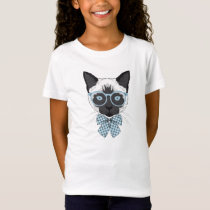 Siamese Cat Fashion Smart T-Shirt