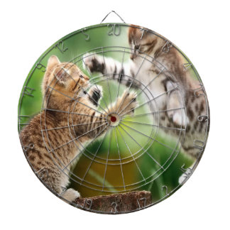Siamese Cat Fight Dartboard