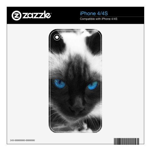 Siamese Cat iPhone 4S Skin