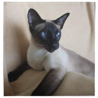Siamese Cat Jazell Printed Napkins