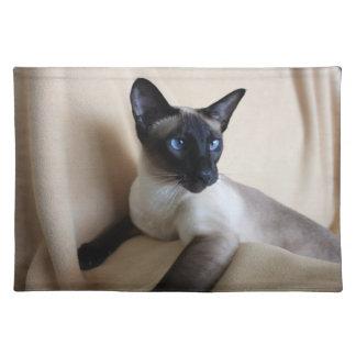 Siamese Cat Jazell Place Mat