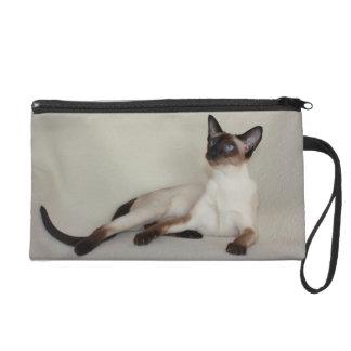 Siamese Cat Jazell Wristlet Purse