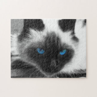 Siamese Cat Jigsaw Puzzle