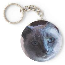 Siamese Cat keychain