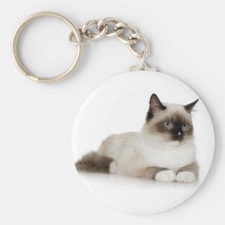 Siamese Cat Keychains