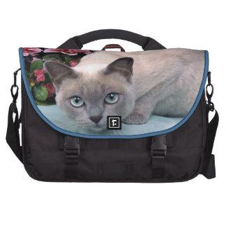 Siamese Cat Laptop Bags