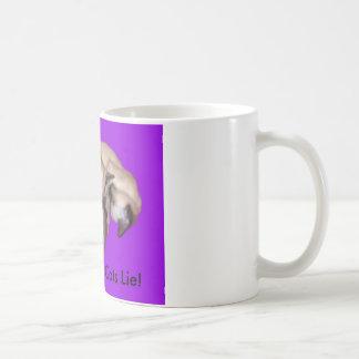 "Siamese Cat ""Let Sleeping Cats Lie"" Mug"