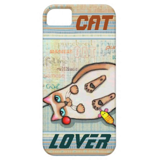 Siamese Cat Lover Case-Mate iPhone 5 Barely There iPhone 5 Covers