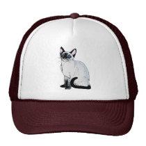 Siamese Cat Mesh Hats