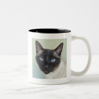 Siamese Cat Murphy Coffee Mugs