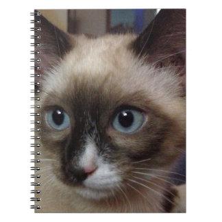 Siamese Cat note book