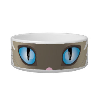 Siamese Cat Pet Bowl for Food OR Water
