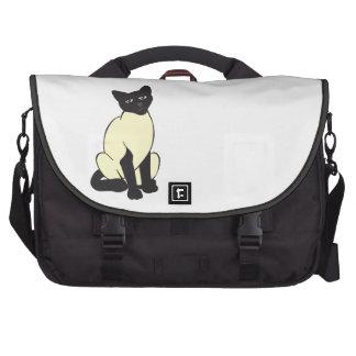 Siamese Cat Pet Cute Destiny Animals Bag For Laptop