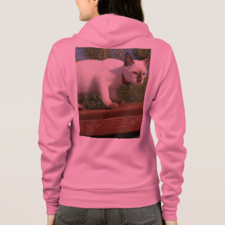 Siamese Cat Pet Purr Meow Kitty Destiny Hoodie