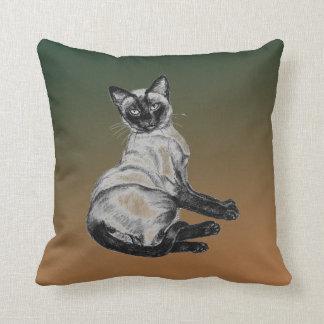 Siamese Cat Pillow