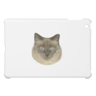 Siamese Cat Portrait iPad Mini Cover