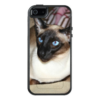 Siamese Cat Relaxing on Couch OtterBox iPhone 5/5s/SE Case