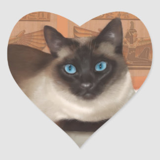 Siamese cat stickers