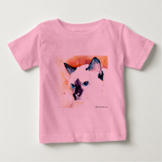 SIAMESE CAT Toddler T Shirts Assorted Colors