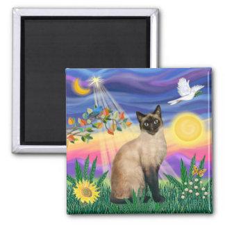 Siamese Cat - Twilght Magnets