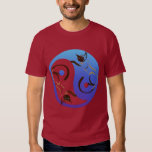 Siamese Cat Yin and YangT-Shirt Tee Shirt