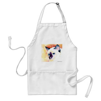 SIAMESE CATS Apron for the Chef